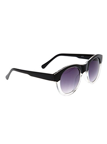 Black & Clear Round Frame - Hot Topic Sunglasses