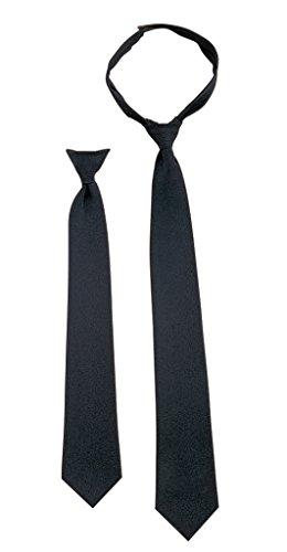 Rothco 18'' Black Clip Tie (Pilot Tie)