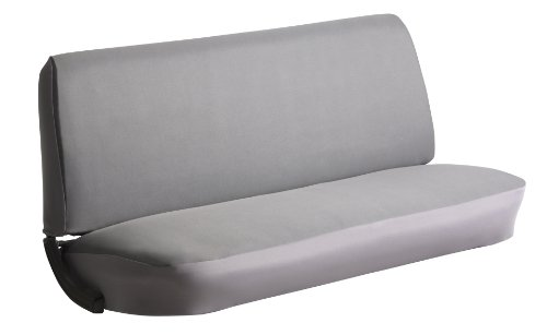 - FIA SP84 GRAY Universal Fit Truck Bench Seat Cover (Gray)
