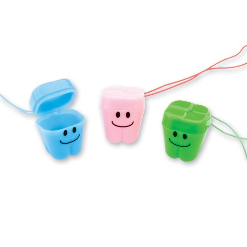 Happy Tooth Necklaces - 144 per Pack