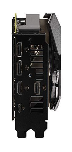 Asus ROG STRIX RTX 2080 Ti Advanced Edition 11 GB GDDR6 con LED RGB, Aura Sync e dissipatore triventola per gaming 4K e VR