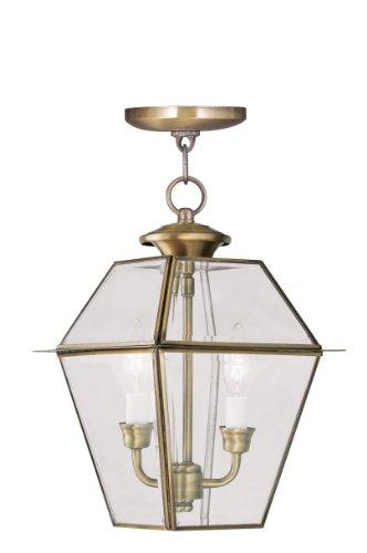 Antique Brass Outdoor Hanging Light in US - 7