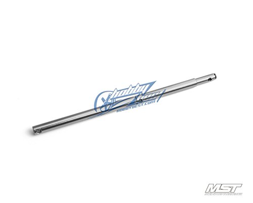 MST FSX Alum. propeller shaft (silver) [210473S] -