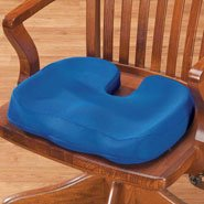 - Fox Valley Traders Contoured Cushion with Coccyx Cut Out