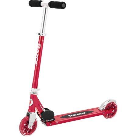 Amazon.com: Razor A125 anodizado plegable scooter con freno ...