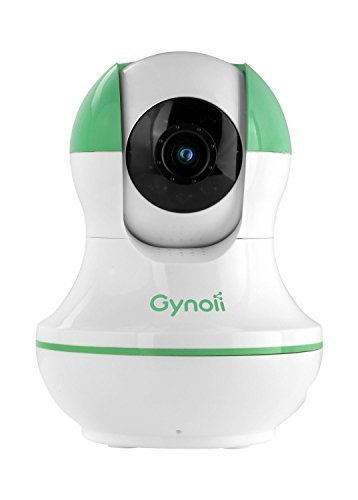 Gynoii GPW-1025 WiFi Wireless Pan-Tilt Video Baby Monitor w/HD Infrared Night Vision,Two Way Audio &Time-Lapse