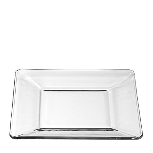 (Libbey Glass 1797299 Tempo Plate B&B Square 6'' (SET OF 12 PER CASE))