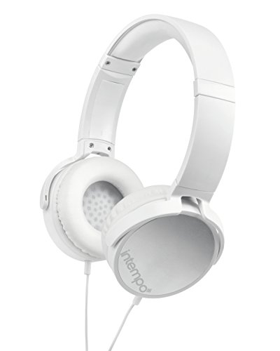 Click to buy Intempo Ee1264Wht Dynamic Over-Ear Headphones, White - From only $23.72