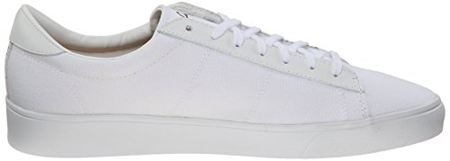 Fred Perry Spencer Canvas Leather White White