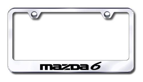 Mazda 6 License Plate Frame Au-tomotive Gold