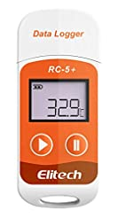 Elitech RC-5+ PDF USB Temperature Data L...