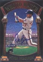 Peter Bergeron Montreal Expos 2000 Fleer Tradition Who to Watch Die Cast Autographed Card - Rookie Card. This item comes with a certificate of authenticity from Autograph-Sports. Autographed