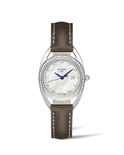 Longines Equestrian Collection - L6.137.0.87.2 - Mother of Pearl Diamond Dial Diam Bezel Quartz Women's