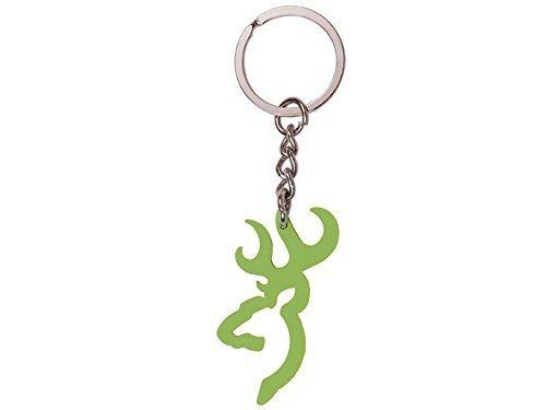 Browning Keychain, Green Buckmark