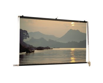 Scenic Roller Matte White Manual Projection Screen Viewing Area: 14' H x 14' W