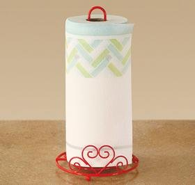 paper towel dispenser red - 6