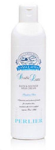 Perlier Double Latte Bath & Shower Milk Cream For Senitive Skin ~ 8.4 oz Double Latte Body Cream