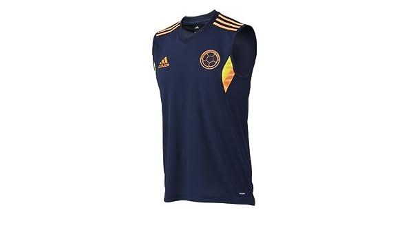 Adidas Camiseta sin Mangas Selección Colombia Adizero (XL): Amazon.es: Deportes y aire libre