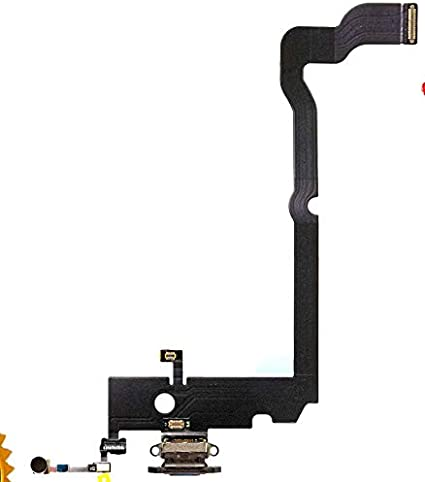 ULDAN Conector de Carga para Apple iPhone XS MAX Negro ...
