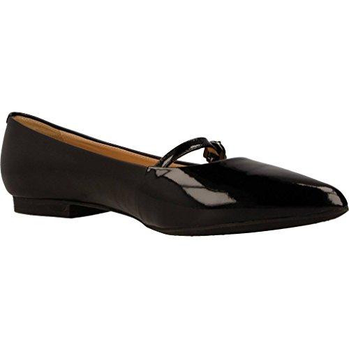 Zapatos bailarina para mujer, color Negro , marca GEOX, modelo Zapatos Bailarina Para Mujer GEOX D RHOSYN Negro