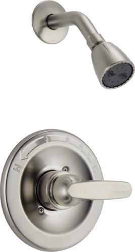 Body Spray Escutcheon - Delta Foundations BT13210-SS Monitor 13 Series Shower Trim, Stainless