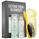 Drybar Detox The Extend Your Blowout Travel Kit ~ Dry Shampoo ~ Conditioner ~ Detangler to go and Shower Cap by Drybar