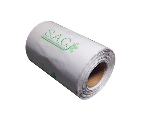 S.A.C. SR9010-20 Sanitary Napkin Disposal Bags, Roll