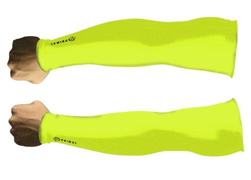 - Primal Wear Men's Hi-viz Arm Warmers, Large, Green