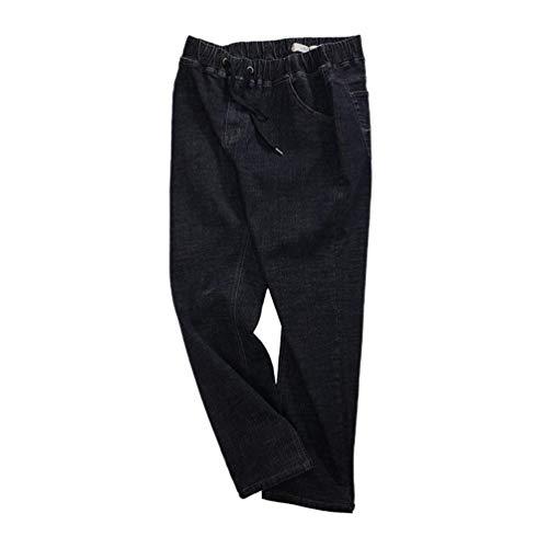 Moda Vintage Dritti Denim Pantaloni Nero Con T Saoye Uomo E Fashion Casual Slim Giovane Jeans Da wRPHF1Hq