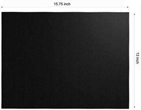 """ASKLKD Lot de 5 tapis de barbecue anti-adhésif réutilisables – Tapis de cuisson ultra résistant pour grille électrique, gaz, charbon de bois, four – 15,75 x 13"""" 3pcs"""