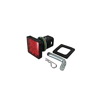 MaxxHaul 50021 Trailer Hitch Cover With 12 LED's Brake and Tail Light Functions: Automotive