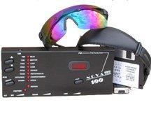 Photosonix Nova Pro 100 Light Therapy Sound Mind Machine W/Cool Blue Premium Glasses