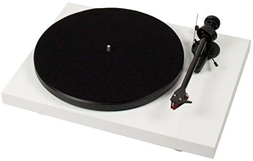 Pro-Ject Debut Carbon OM10 - Tocadiscos (230-240 V, 50/60 Hz, 415 x 320 x 118 mm, 5,600 kg, 30 cm), color blanco