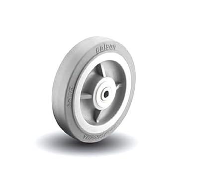 "Colson 8"" x 2"" Soft Gray Performa Non Marking Wheel & Bearing 5-8-449"