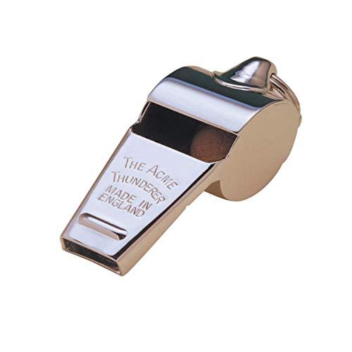 Acme Whistle Thunderer Dog (Acme 59.5 Thunderer Whistle Medium Tapered Mouth Piece)