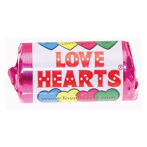 Swizzels Matlow Love Hearts Mini Roll Sweets Amazoncouk Grocery