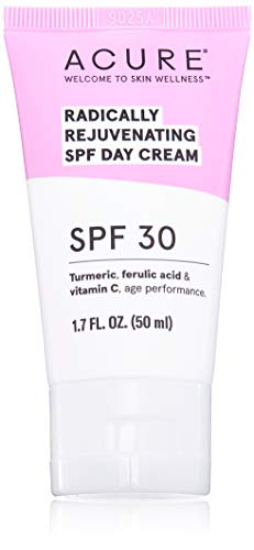 Acure Radically Rejuvenating Spf 30 Day Cream, 1.7 Ounce (Best All Day Sun Cream)