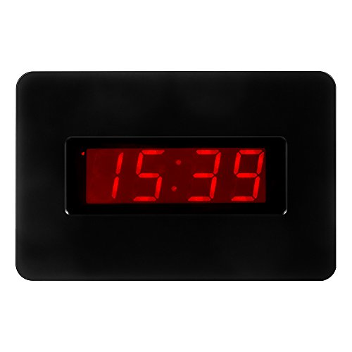 kwanwa digital wall clock battery operated only with large