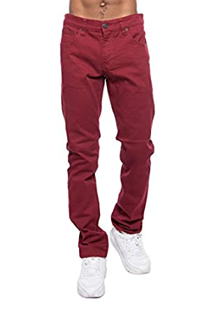 Victorious mens skinny fit color jeans