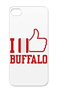 Football Sports Miscellaneous Hockey Buffalo Like TPU Red I QuotLikequot Buffalo Case Cover For Iphone 5/5s
