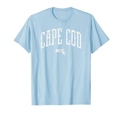 (Cape Cod Massachusetts Vintage City T-Shirt)