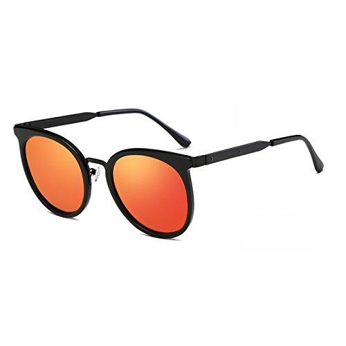 soleil de Case Rouge zonnebril C2 C4 soleil dames Femme polaris¨¦es Marque Lunettes Ovale Luxe lunettes Vogue Miroir AT9005 de Mirrlr Fygrend ORPvCxC