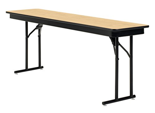 "KI Emissary Folding Table with Heritage Top, 72"" x 18"" x 29"", Kensington Maple"