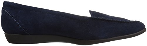 Aerosoles Damentrend Slip-On Loafer Dunkelblaues Wildleder