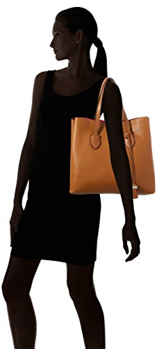 Coccinelle C1 Yi0 Celene, Borsa Shopper e la spalla Donna Marrone (Brown)