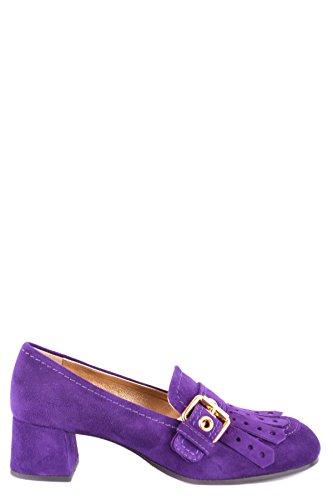 Shoe Zapatos Ezbc029019 Car Altos Mujer Morado Gamuza 7dTnBwWOq