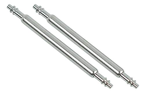 Genuine Replacement Casio Strap Band Spring Rod 18mm #72011384 AE-1200 DW-5600, EDB-100, EDB-600, EF-512D, EF-513D, EF-567, EFA-103, EFA-109, EFA-122, PRG-270 A-220WC, ABX-200, ABX-210 Set of 2 pcs]()