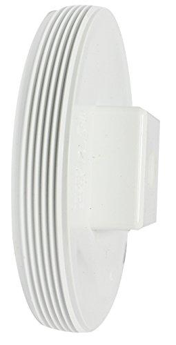 Canplas 193057S PVC DWV Cleanout Plug with Line, 6-Inch by Canplas