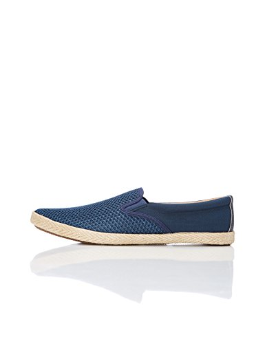 Find on Uomo Blu Scarpa Scamociata navy Slip w0rUn40q7