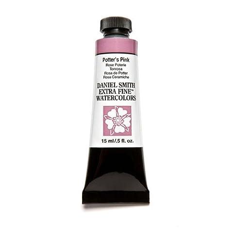 Daniel Smith Extra Fine Watercolor 15ml Paint Tube, Potter's Pink Pinkcolor (Daniel Pink Sales)